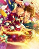 (Dog of the New Year) Midori Takamine Frameless Bloomed