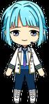 Hajime Shino ES Idol Uniform chibi