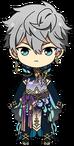 Izumi Sena Butterfly Outfit chibi