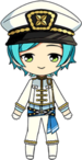 Kanata Shinkai PiratesFes uniform chibi