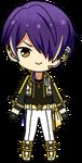 Shinobu Sengoku ES RYUSEITAI Uniform chibi