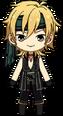 Kaoru Hakaze Pirate chibi