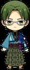 Keito Hasumi Horseback Archery Uniform chibi