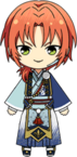 Leo Tsukinaga Fortune Banquet Outfit chibi