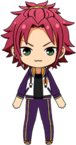 Mao Isara Halloween Practice Outfit chibi