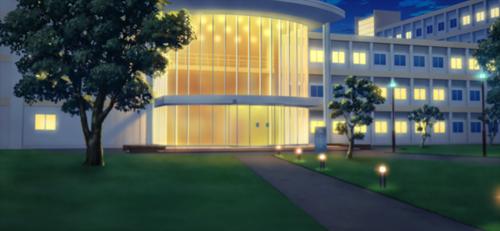 Nazuna's University (Night - Bright) Full