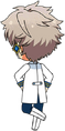 Koga Oogami ES Idol Uniform chibi back