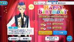 Arashi Narukami Birthday 2018 Campaign