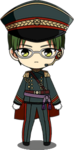 Keito Hasumi Night Watch chibi