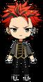 Kuro Kiryu Knights Killers Uniform chibi