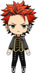 Kuro Kiryu Knights Killers Uniform chibi