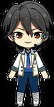 Rei Sakuma ES Idol Uniform chibi