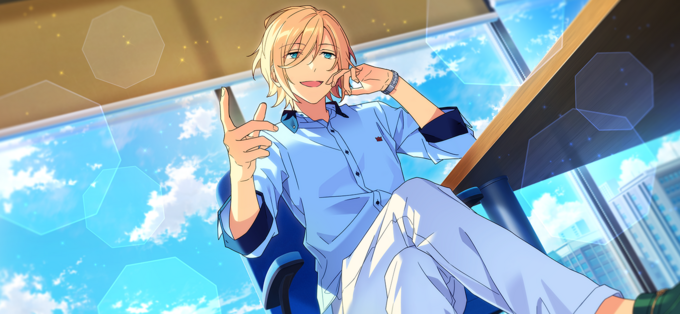 (Leader of Heaven) Eichi Tenshouin CG