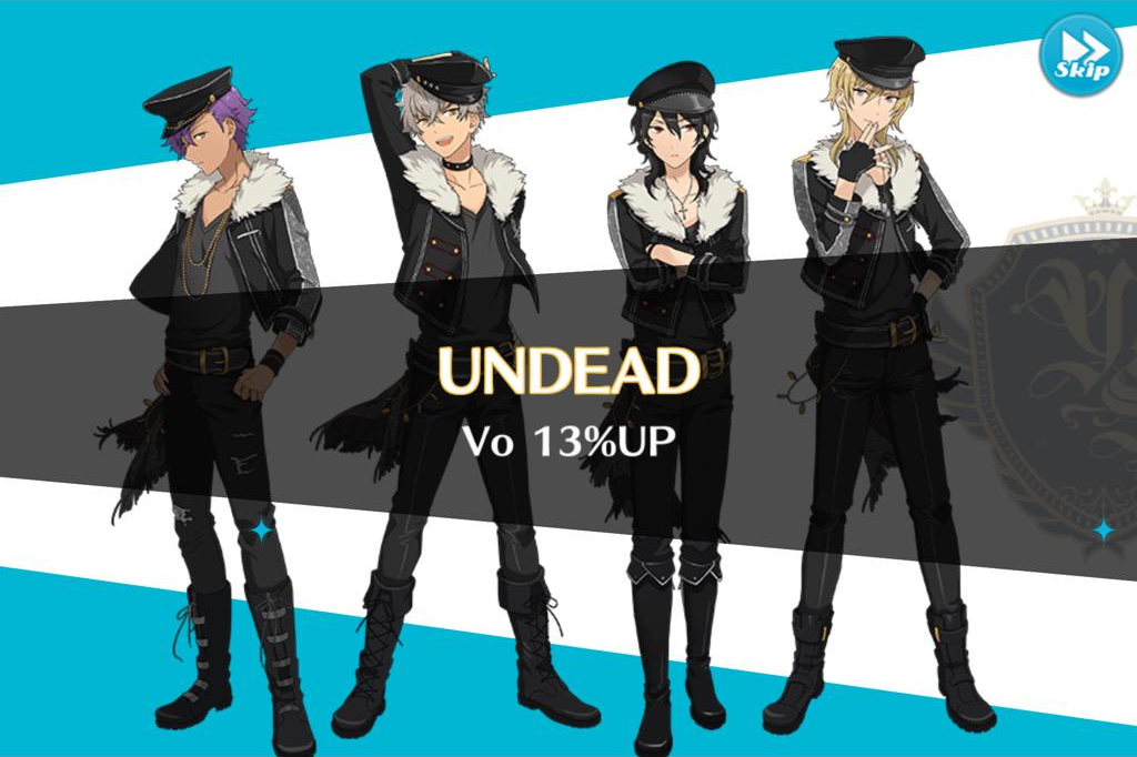 UNDEAD 13% Up