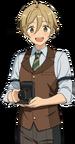 (Successor of the Legend) Tomoya Mashiro Full Render Bloomed
