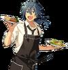 (Easygoing Chef) Niki Shiina Full Render