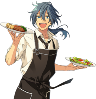 (Easygoing Chef) Niki Shiina Full Render