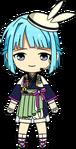 Hajime Shino Tsukimi Outfit chibi