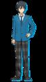 Hokuto Hidaka Anime Profile