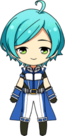 Kanata Shinkai Hero Show uniform chibi