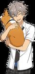 (Agitating Summer Night) Koga Oogami Full Render Bloomed