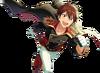 (Full Power Hero) Chiaki Morisawa Full Render Bloomed