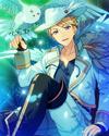 (Moonlight's Snowy Owl) Arashi Narukami Frameless Bloomed