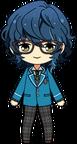 Tsumugi Aoba Student Uniform chibi