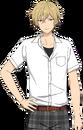 Kaoru Hakaze 2nd Year Summer School Dialogue Render