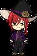 Natsume Sakasaki Blood Banquet Outfit chibi