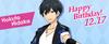 Hokuto Hidaka Birthday
