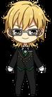 Kaoru Hakaze Butler Uniform chibi