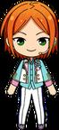 Hinata Aoi 4th Anniversary Outfit chibi