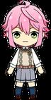 Tori Himemiya Own Clothes Spring Outfit chibi