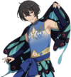 (Butterfly of Misdirection) Ritsu Sakuma Full Render Bloomed