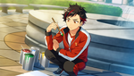 (Friendship Painter) Tetora Nagumo CG