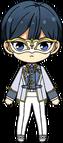 Hokuto Hidaka Mask of Heart chibi