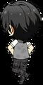 Rei Sakuma Summer Uniform (Wet) chibi back