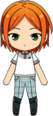 Yuta Aoi Horse Riding Club Outfit chibi