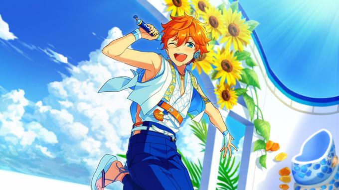 (Sparkling Sunflowers) Subaru Akehoshi CG2