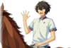 (Horse Riding and Calm) Ritsu Sakuma Full Render