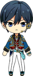 Hokuto Hidaka SS Outfit chibi