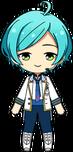 Kanata Shinkai ES Idol Uniform chibi