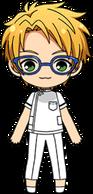 Makoto Yuuki Doctor chibi