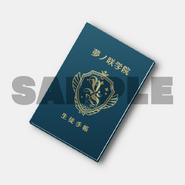 Yumenosaki Student Notebook Memo Pad