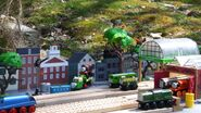 Tidmouth station race