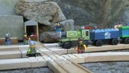 Blue Mountain Blasting Tunnel