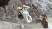 Humphrey gallops away