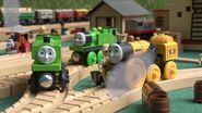 Duck, Oliver, Stephen, Buster