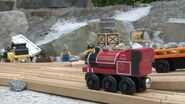 Skarloey, Proteus, and Byron